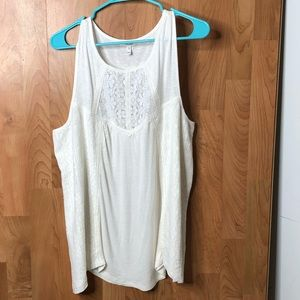Maurices XXL SLEEVELESS SWING TOP W/lace